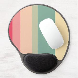 Retro Lines Gel Mousepad