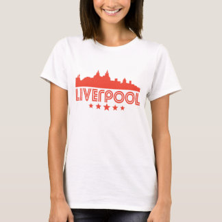 Retro Liverpool Skyline T-Shirt