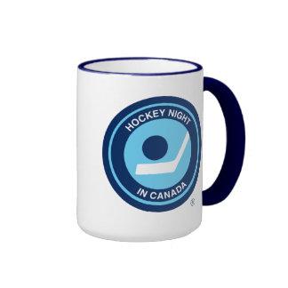 Rétro logo de Hockey Night in Canada Mug Ringer