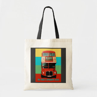 Retro London Bus Bag