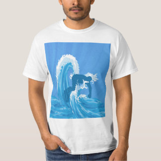 Retro look surfe T-Shirt