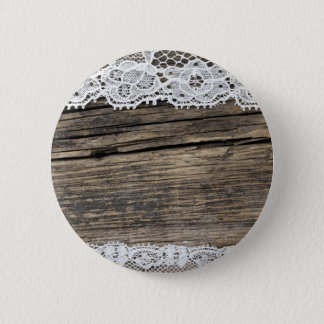 retro look with old lace 2 inch round button