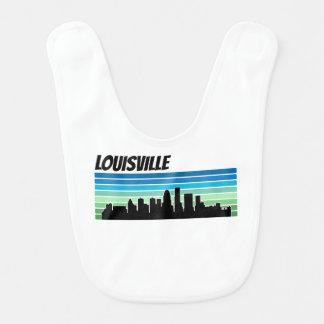 Retro Louisville Skyline Bib