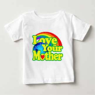 Retro Love Your Mother Earth T Shirts