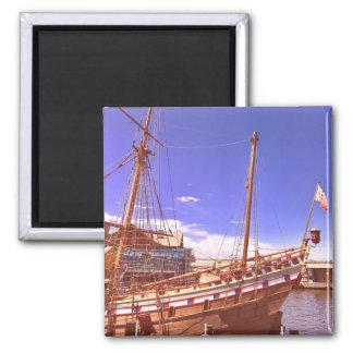 """Retro magnet """"sailing boat"""""""