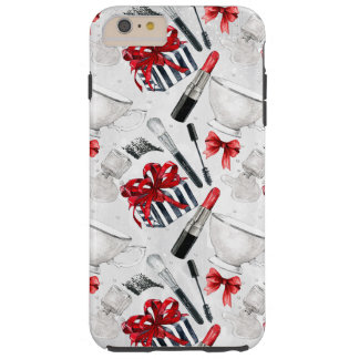 Retro Make Up Girly Trendy Colorful Tough iPhone 6 Plus Case