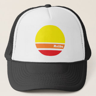 Retro Malibu trucker hat