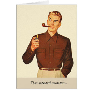 Retro Man - The Unpredictability of a Fart, Card