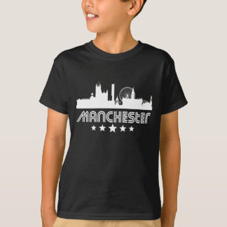 Retro Manchester Skyline T-Shirt