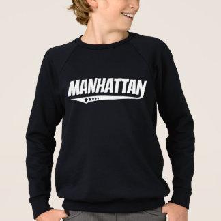 Retro Manhattan Logo Sweatshirt