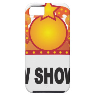 Retro Marquee Sign with Lights Illustration Case For The iPhone 5