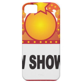 Retro Marquee Sign with Lights Illustration iPhone 5 Case