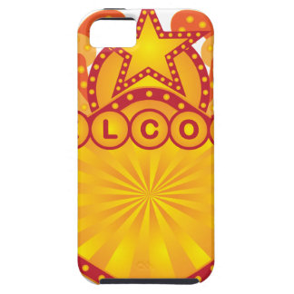 Retro Marquee Welcome Sign Illustration iPhone 5 Case