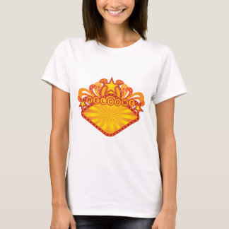 Retro Marquee Welcome Sign Illustration T-Shirt