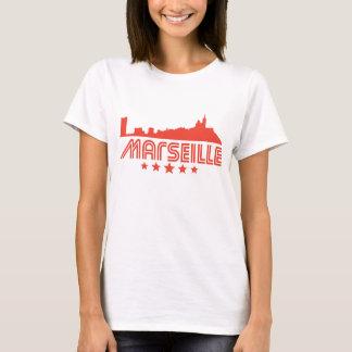 Retro Marseille Skyline T-Shirt