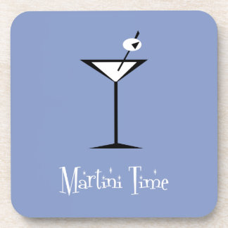 Retro Martini Beverage Coaster