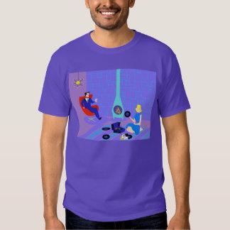 Rétro même à la maison le T-shirt