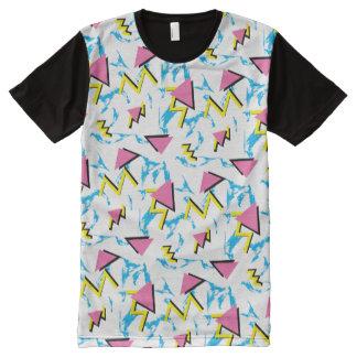 Retro Memphis Inspired Full Pattern T-Shirt