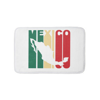 Retro Mexico Bathroom Mat