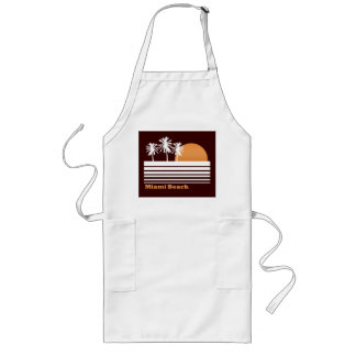 Retro Miami Beach Apron