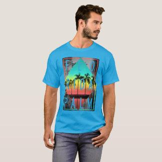 Retro Miami Florida, Sunset Palm Trees, T-Shirt