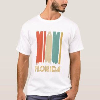 Retro Miami Skyline T-Shirt