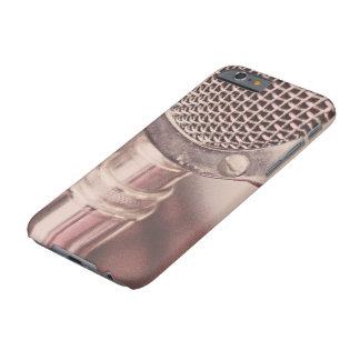 Retro Mic Barely There iPhone 6 Case