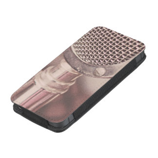 Retro Mic iPhone Pouch
