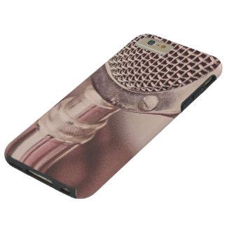 Retro Mic Tough iPhone 6 Plus Case