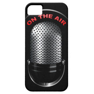 Retro Microphone iPhone 5 Covers
