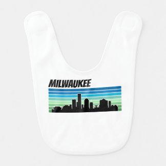 Retro Milwaukee Skyline Bib