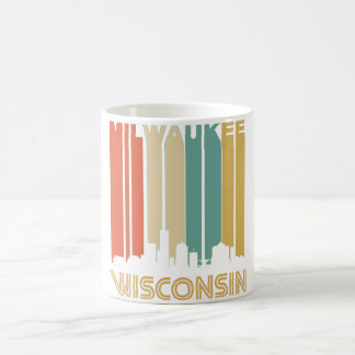 Retro Milwaukee Skyline Coffee Mug