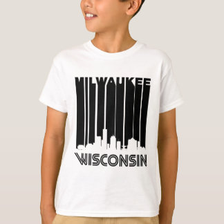 Retro Milwaukee Skyline T-Shirt