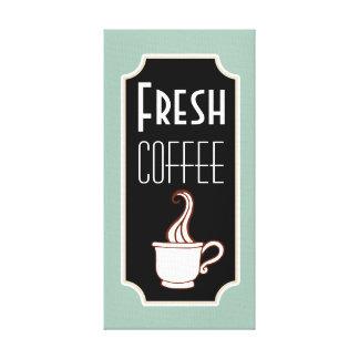 Retro Mint Coffee Shop Wall Art Kitchen Sign Gift