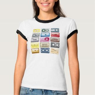 Retro Mixtapes Print Apparel T-Shirt