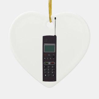 Retro Mobile phone Ceramic Ornament