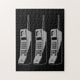 Retro Mobile Phone Graphic Jigsaw Puzzle