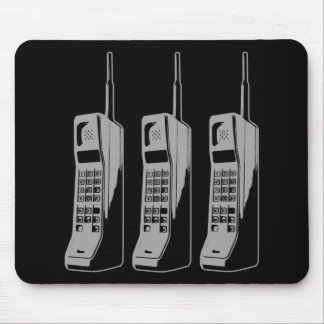 Retro Mobile Phone Graphic Mouse Pad