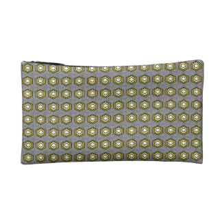 Retro-Mod-Purse-Accessory-Sets-Lime-Gray Cosmetic Bag