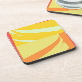 Retro Modern Abstract Art Coaster