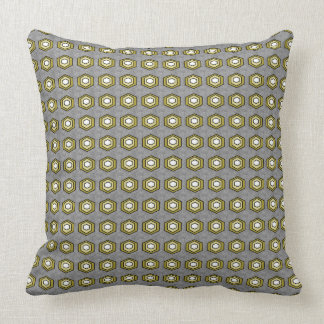 Retro-Modern-Classic_Gray-Olive_Stylish-Accents Throw Pillow