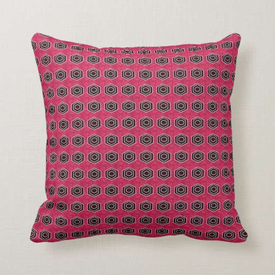 Retro-Modern-Classic_Rose-Grey-Stylish-Accents Throw Pillow