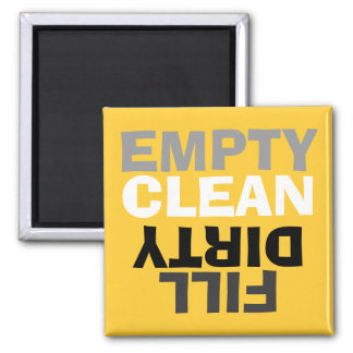 Retro Modern Clean/Dirty Dishwasher Magnet