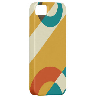 Retro Modern Colorful Fifties Graphic Case For The iPhone 5