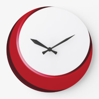 retro modern kitchen wall clock