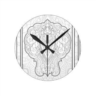 Retro monkey clocks