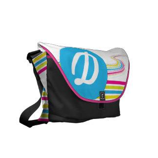 Retro Monogram Rickshaw Bag Courier Bags