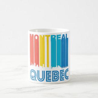 Retro Montreal Quebec Canada Skyline Coffee Mug