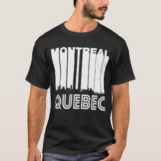 Retro Montreal Quebec Canada Skyline T-Shirt