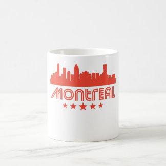 Retro Montreal Skyline Coffee Mug